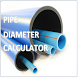 Pipe Diameter Calculator Free by Mahesubbu
