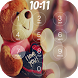 Teddy Bear password Lockscreen