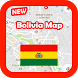 Bolivia Map and Geography