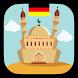 أوقات الصلاة و الأذان و القبلة في ألمانيا بدون نت