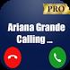 Ariana Grande fake call prank vid fun