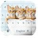 Three Cute Cat Keyboard by live wallpaper collection