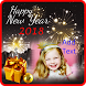 New Year 2018 Photo Frames by Sunny See Moon