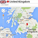 United Kingdom by Borgo Map