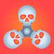 Skull Fidget Spinner Simulator by Reji Modiyil