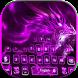 Neon Dragon Keyboard Theme by NeoStorm We Heart it Studio