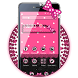 Pink Bow Cute Theme by Hot Launcher
