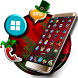 Merry Christmas Launcher Theme Wallpaper And Icons by Borkos Apps