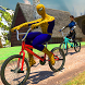 Spider Hero VS Superheroes Cycle Race by G.O.T