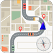GPS Route Finder with Maps by DHEW