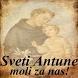 Sveti Antun Padovanski by Darko Dobosevic