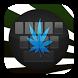 GO Keyboard Best Falling Weed by Keypad Emoji Keyboard Theme Design