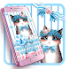 Cute cat keyboard theme by Hello Keyboard Theme