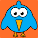 Hoppy Floppy Blue Bird by Dodge Vision LLC