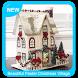 Beautiful Pastel Christmas Village