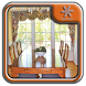 Bay Window Treatments by Quill Spray