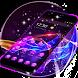 Purple Neon Launcher Theme for 2018