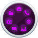 Smart Launcher Purple Theme by ThemeStudio6