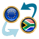 Euro x South African Rand by Currency Converter X Apps
