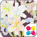 Flower Wallpaper Vintage Lily by +HOME by Ateam