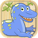 Paint and color dinosaurs game by Ancorma Apps