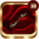 Abstract Red 3D Next Launcher theme by spikerose