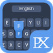 Classic Blue Keyboard Theme by Pixelate Themes
