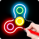 Draw Finger Spinner by DrawAPP