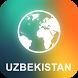 Uzbekistan Offline Map by EasyNavi