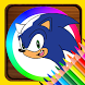 Coloring Book For Sonic by Coloring For Relax