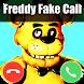 a fake call from freddy prank fun vid