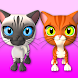Talking 3 Friends Cats & Bunny by Kaufcom Games Apps Widgets