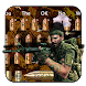Gun Bullet Keyboard Theme Soldier Weapon