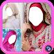 Bridal Hijab Modern Kebaya Photo Maker by clickheroapps