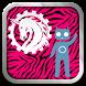 Pink Zebra CM10/AOKP Theme by G00Dapps