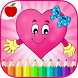 Valentines Game Coloring Book by TeachersParadise: Learning games for kids & adults