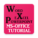 MS OFFICE (WORD EXCEL POWERPOINT) TUTORIAL OFFLINE by MMSOFT