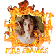 Fire Name Photo frames by Fidget Spinner Apps