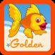 Swimming Golden Fish by sharron