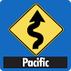 Pacific Coast - Road Trips by MAD Maps