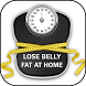 How to Lose Belly Fat at Home by Daily Social Apps