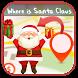 Where is Santa Claus GPS by Happy Santa Claus