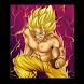 How To Draw Super Saiyan God Easy by 3dDraw