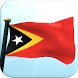 Timor-Leste Flag 3D Wallpaper by I Like My Country - Flag