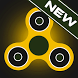 Fidget spinner neon glow spin by Bitmunch Games Studio