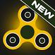Fidget spinner neon glow spin by Bitmunch Games Studio
