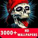 Amazing Skull Live Wallpaper HD by HD Live Wallpaper & Prank App