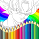 Coloring dragon ball z dokkan by RiskyTech Dev