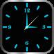 Glowing Clock Locker (blue) by AndroBeings