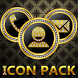 ICON PACK GOLD DIAMOND CIRCONS by Tak Team Studio